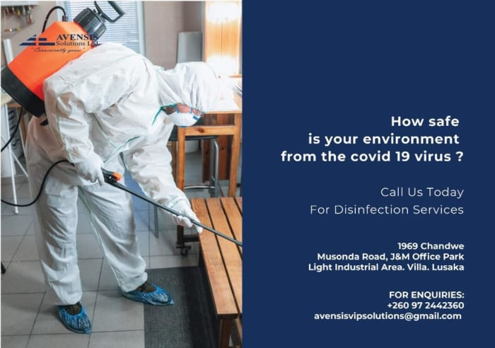 COVID-19 disinfection services