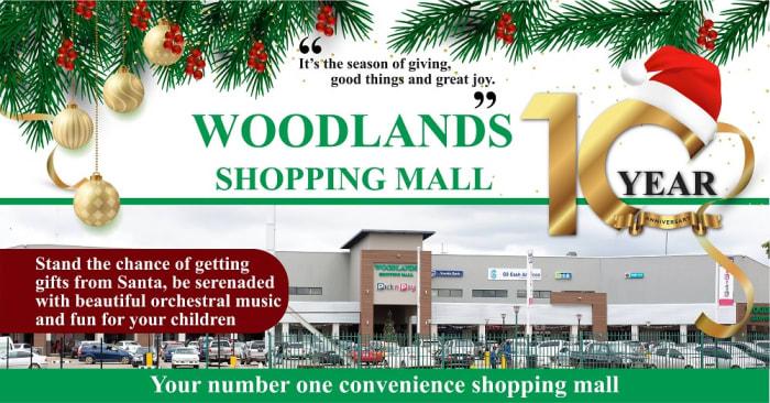 Christmas at Woodlands Shopping Mall