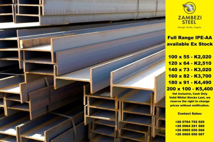 IPE AA in stock - full range