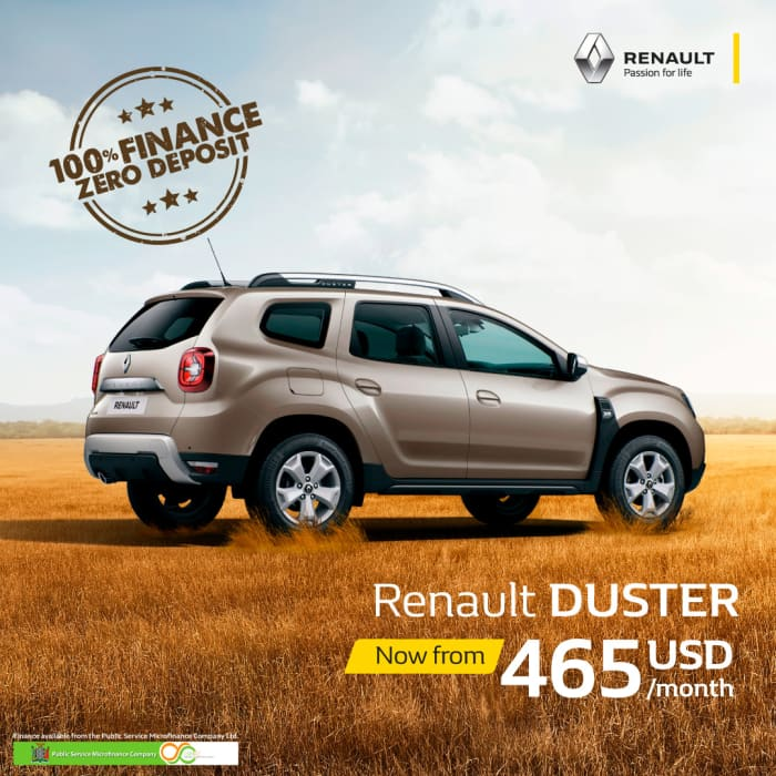 Get the Renault Duster now from 465USD/month