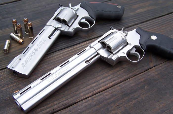 Handguns, shotguns, rifles, ammunition, parts as well as accessories