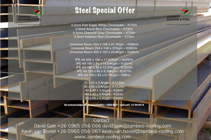 Steel Special offer