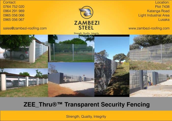 ZEE Thru Transparent Security®™ Fencing