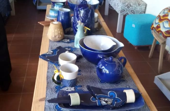 Full range of handcrafted ceramics