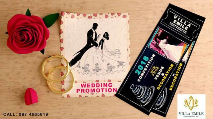 Win free venue and decoration for your wedding
