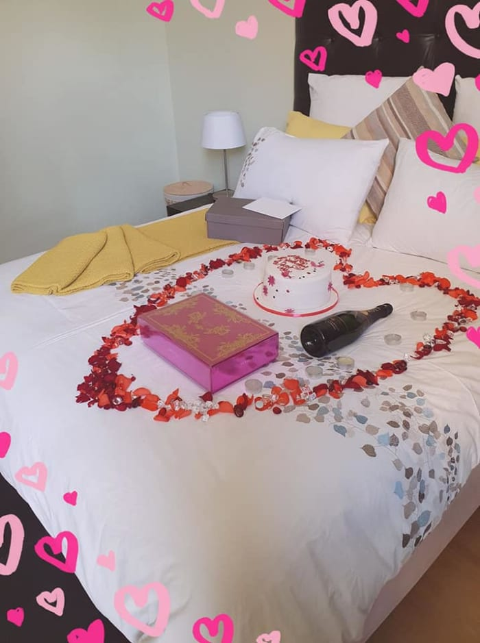Surprise your special one at Terrace Apartments