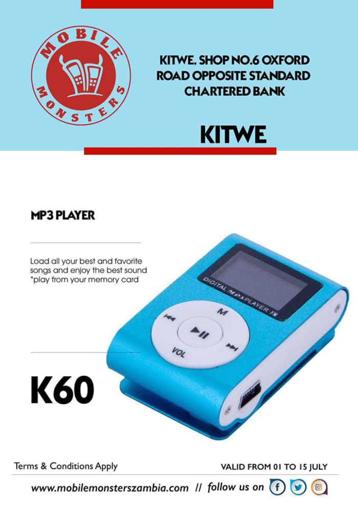 MP3 Player available in stock