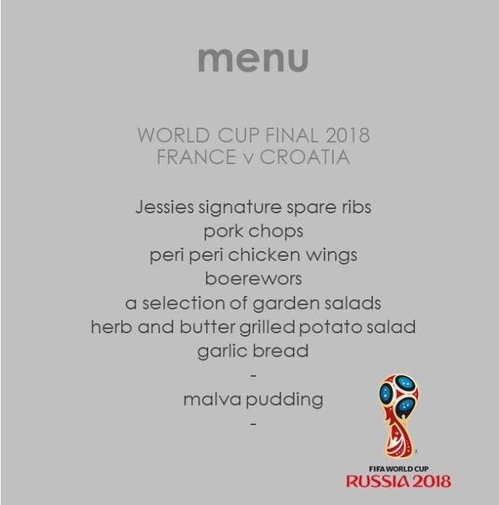 World Cup Final BBQ