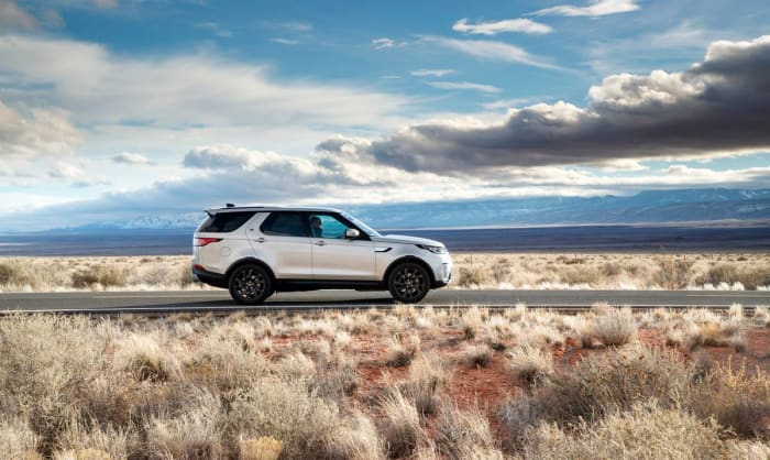 Book a Land Rover test drive