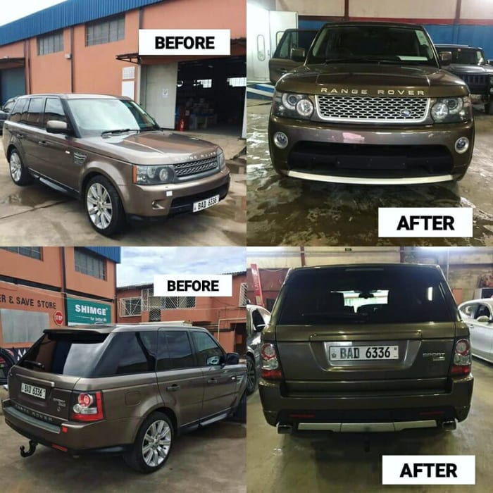 Trust Car Service completes face and tail lift on Range Rover