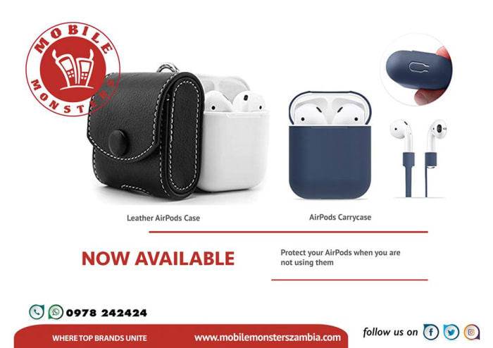 New AirPod cases in stock
