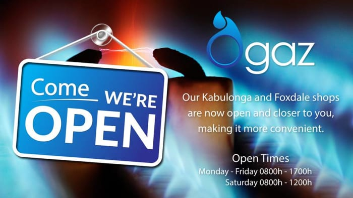 New outlets in Kabulonga and Foxdale