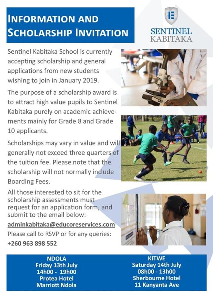 Scholarship Application Invitation