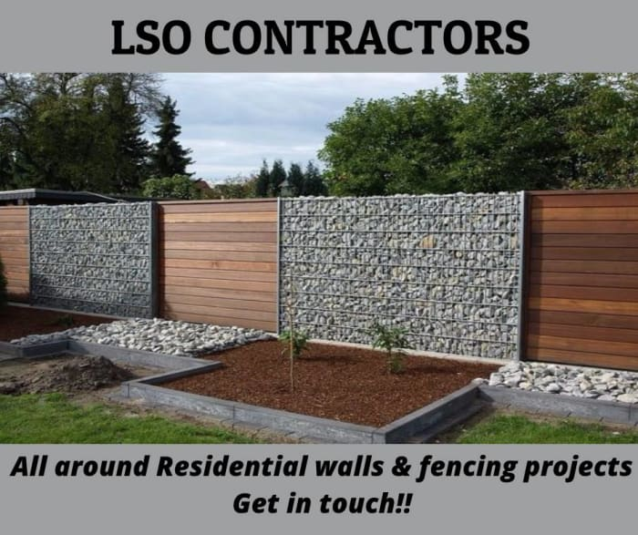 Residential walls and fencing projects