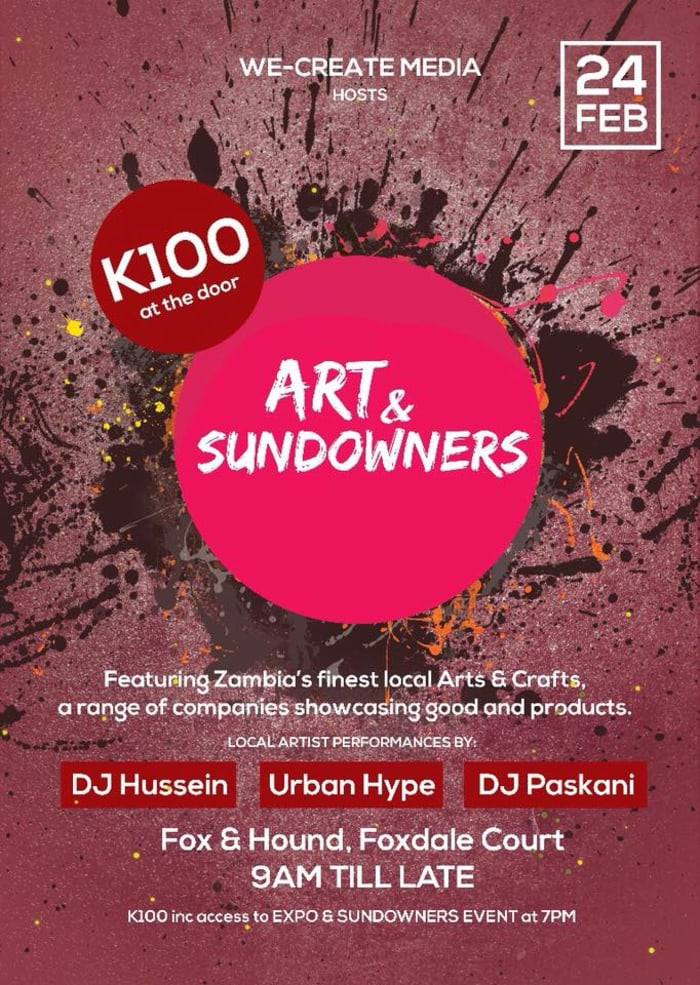 Zambian Art Expo and Sundowners