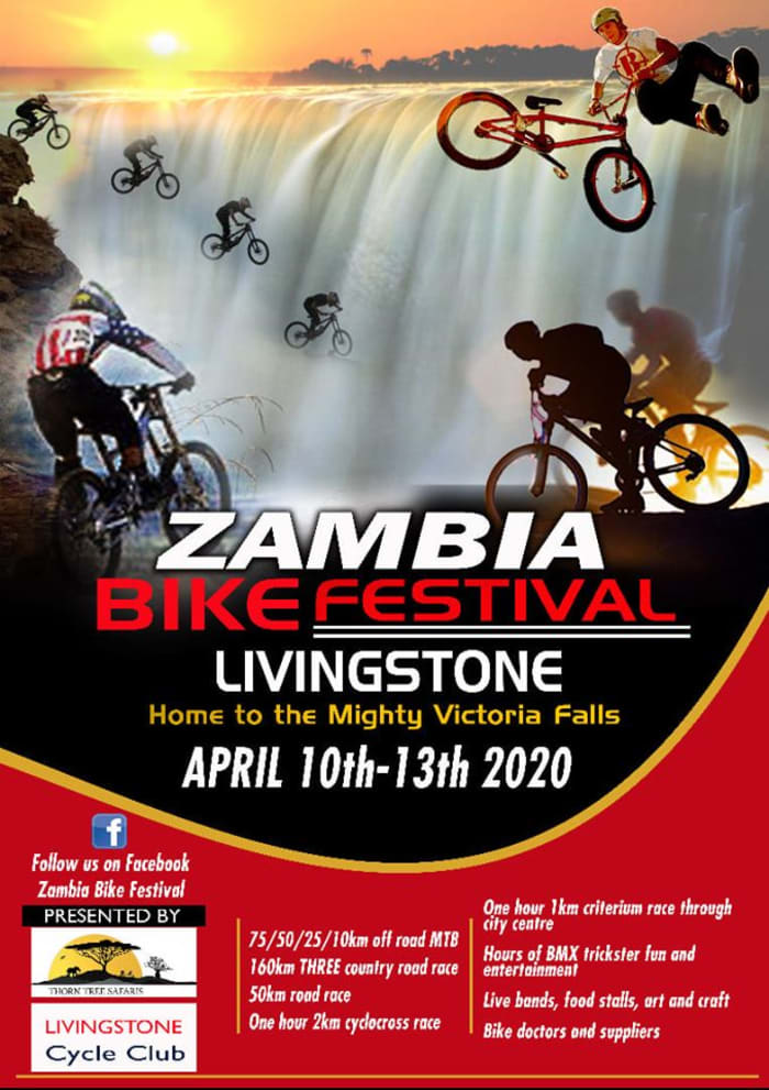 Stay at Fawlty Towers for Zambia Bike Festival