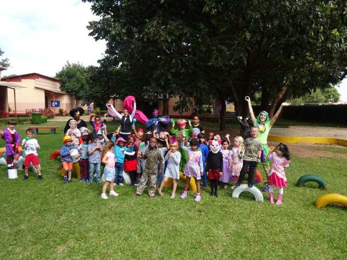 Reception students host carnival celebrations