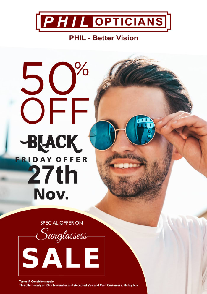 Special offer on sunglasses get upto 50% off