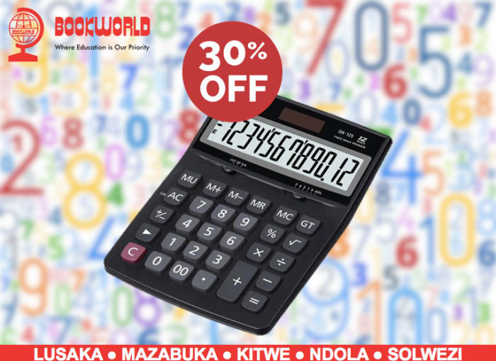 30% off on selected calculators