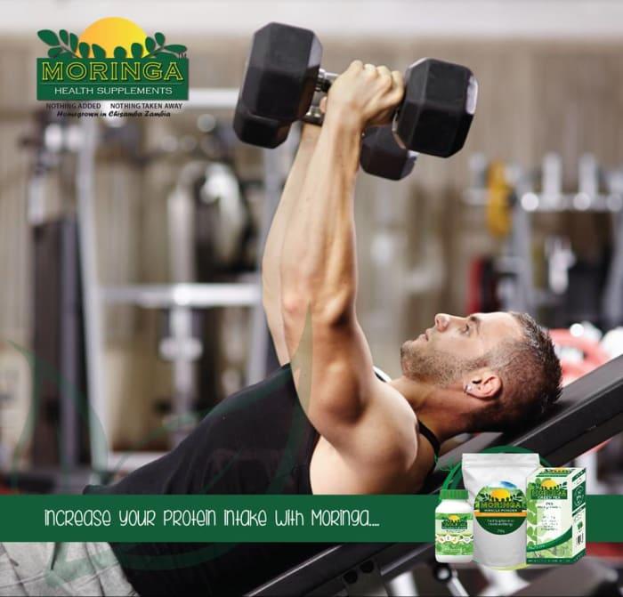 Moringa's 9 essential amino acids content