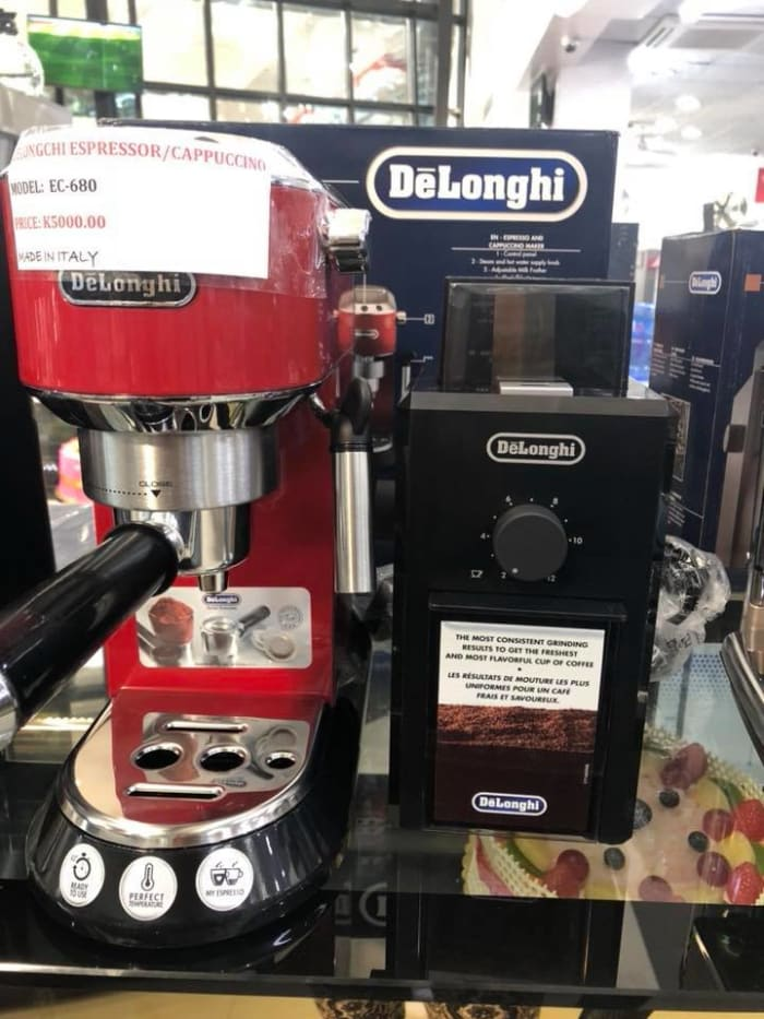 Cappuccino machines available in stock