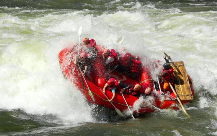 High water rafting special