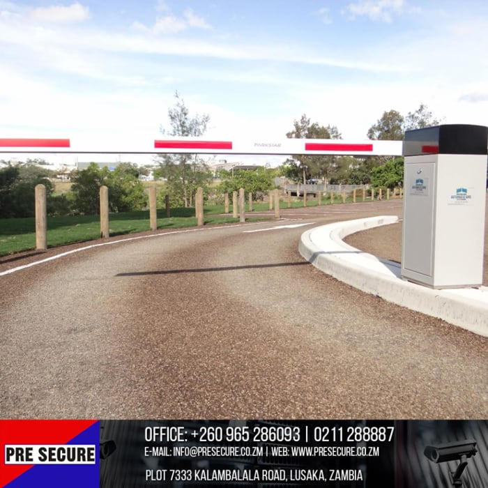 Automated physical access control barrier intallation by PreSecure