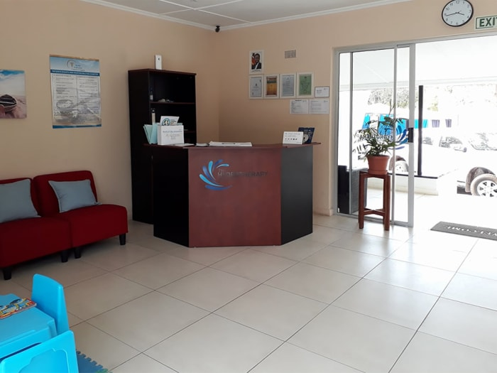 A clean, modern and contemporary therapy centre using specialised equipment
