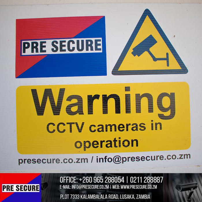 CCTV security solutions available