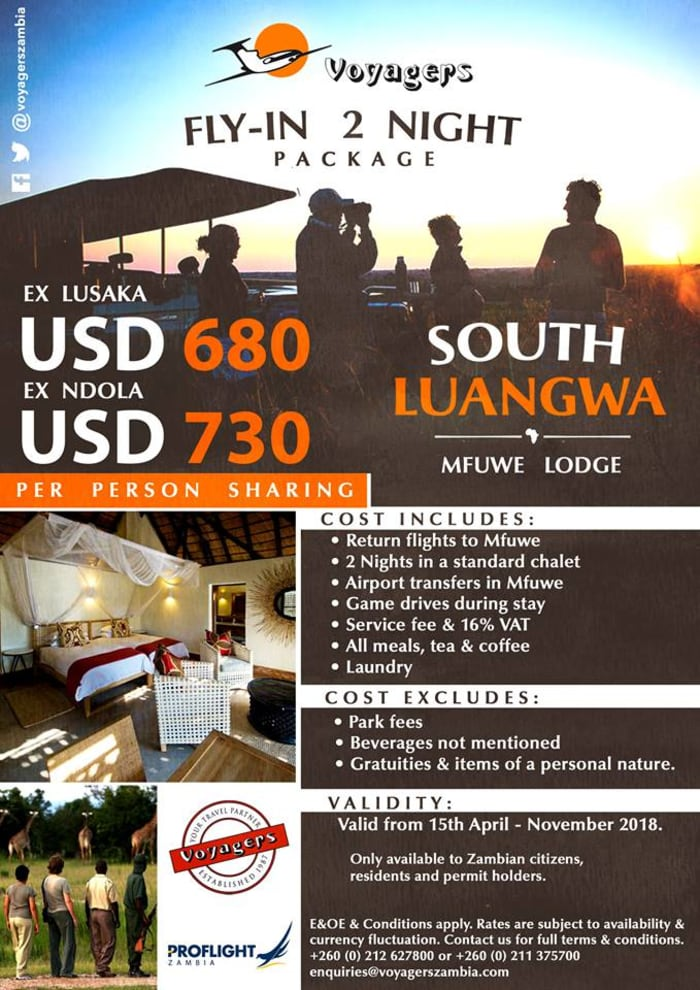Fly-in South Luangwa Package