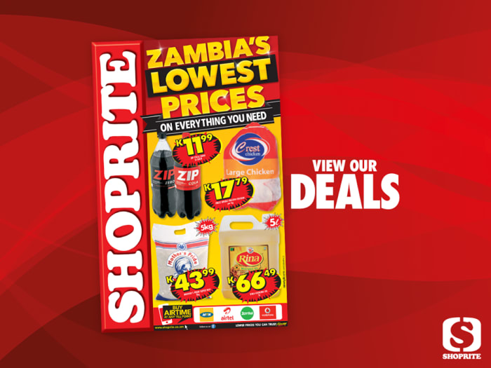 Grocery deals at Shoprite