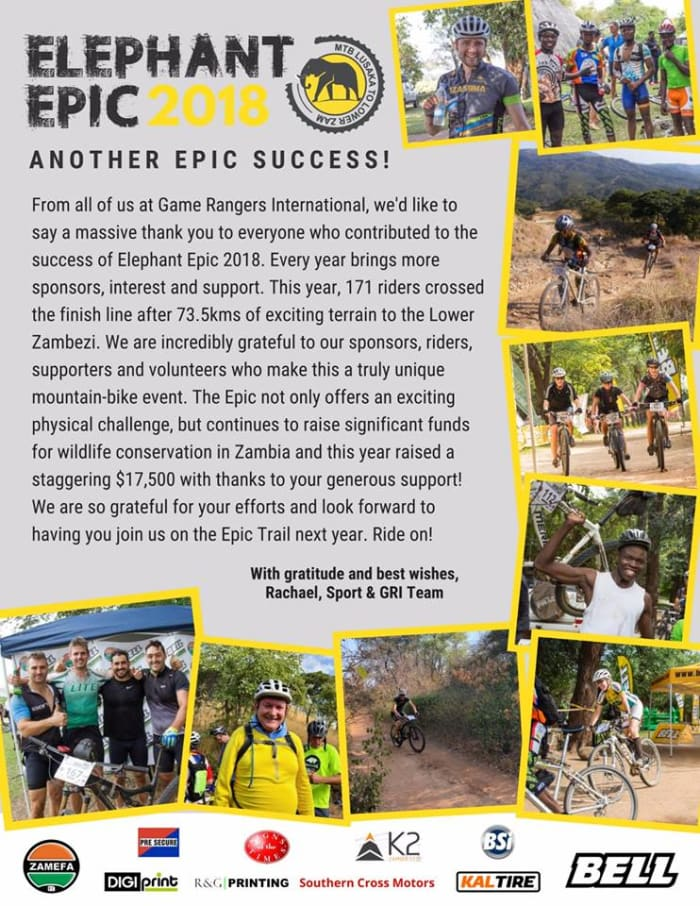 Pre-secure participates in Elephant Epic 2018