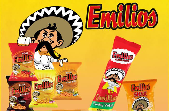 Emilios corn puffs and snax