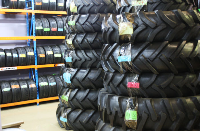 Brand new tyres for a wide range of vehicles