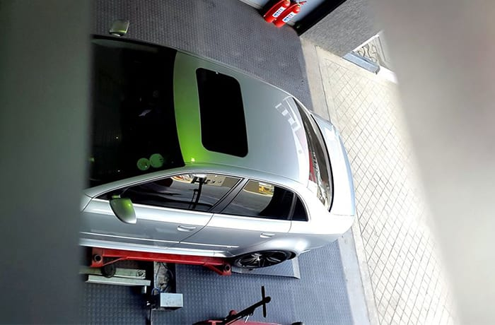 Professional wheel alignment services