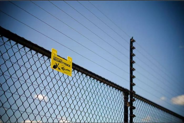 Security fencing for residential and commercial applications
