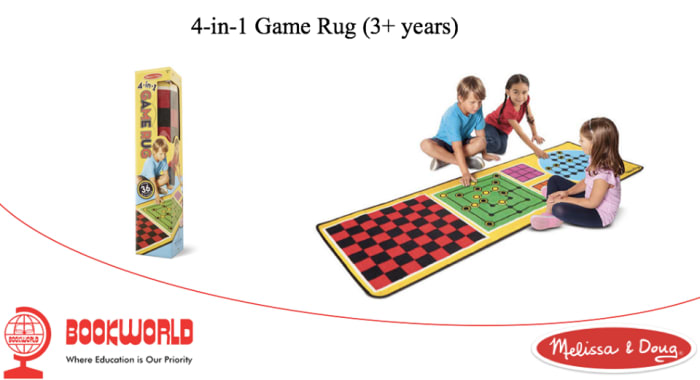 4-in-1 game rug available in stock