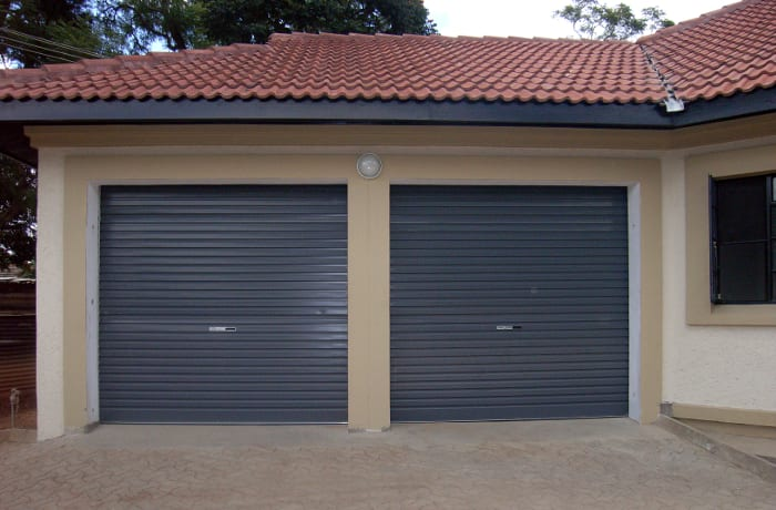 Modern and attractive roll-up garage doors
