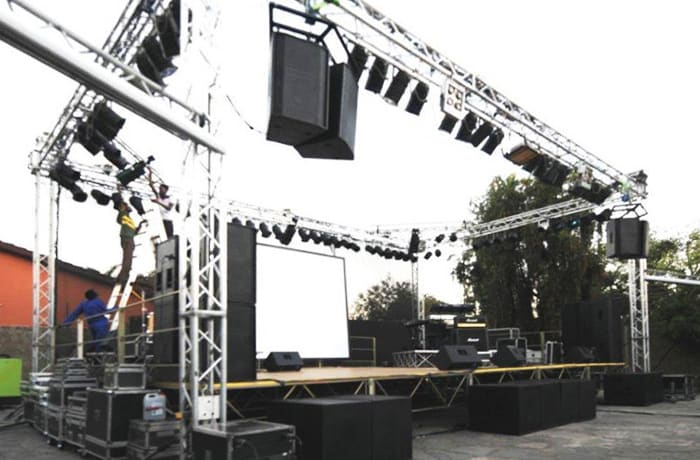 From just speakers, a professional PA system right through to a DJ
