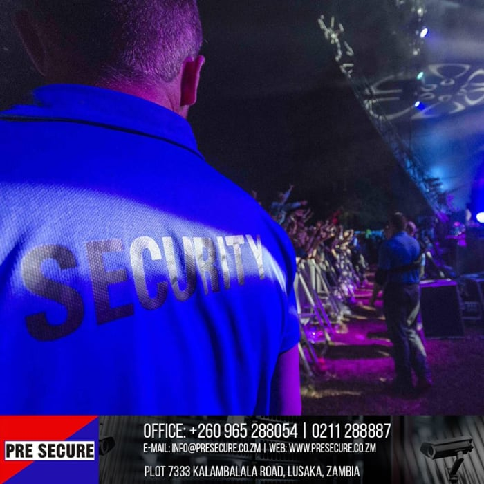 Pre-Secure's tips on how to stay safe at events - Article