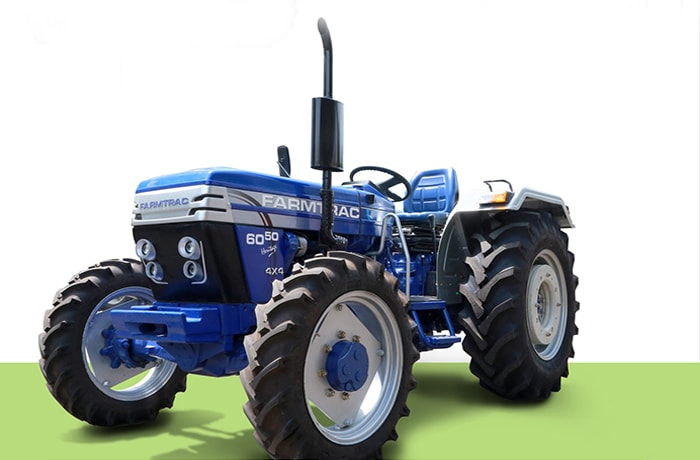 35 HP to 90 HP Farmtrac range of tractors