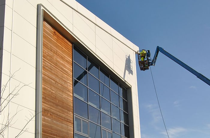 Cladding to improve the aesthetic appeal of buildings