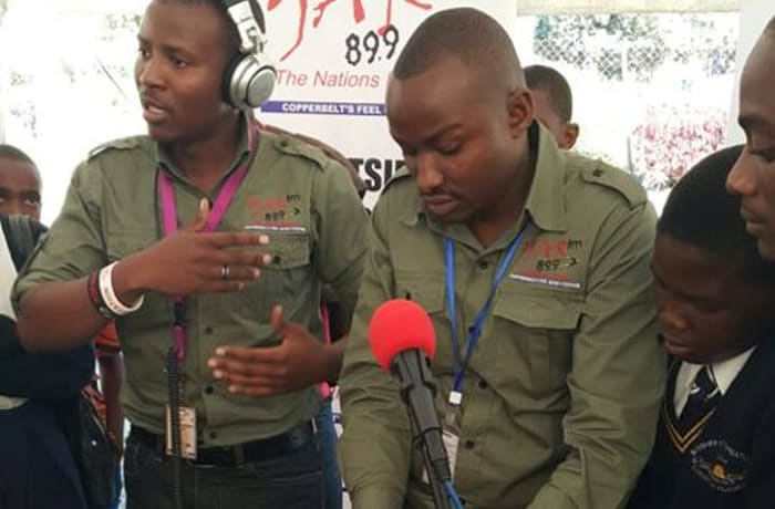Your Anthem Radio broadcasts from Kitwe on 89.7 FM