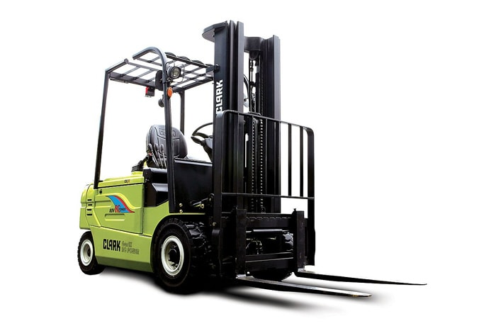 Toyota and Clark forklift trucks
