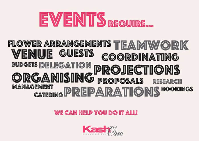 Your one stop solution for all your event needs