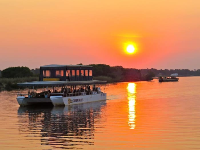 Sunset River Cruises in Livingstone