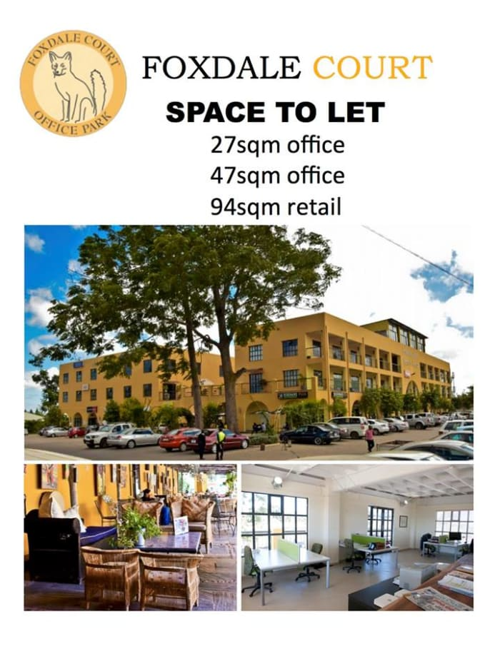 Office and retail spaces available to let