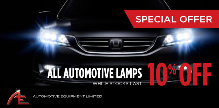 10% off on all Automotive headlamps