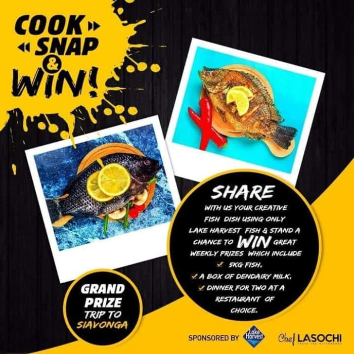 Win a trip to Siavonga with Lake Harvest's competition