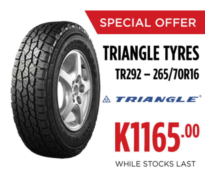 Special offer on Triangle tyres